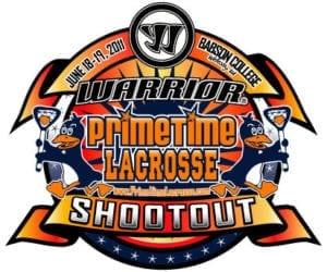 Logo from the original PrimeTime Warrior Shootout Lacrosse Tournament