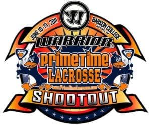 Logo from the original PrimeTime Warrior Shootout Lacrosse Tournament
