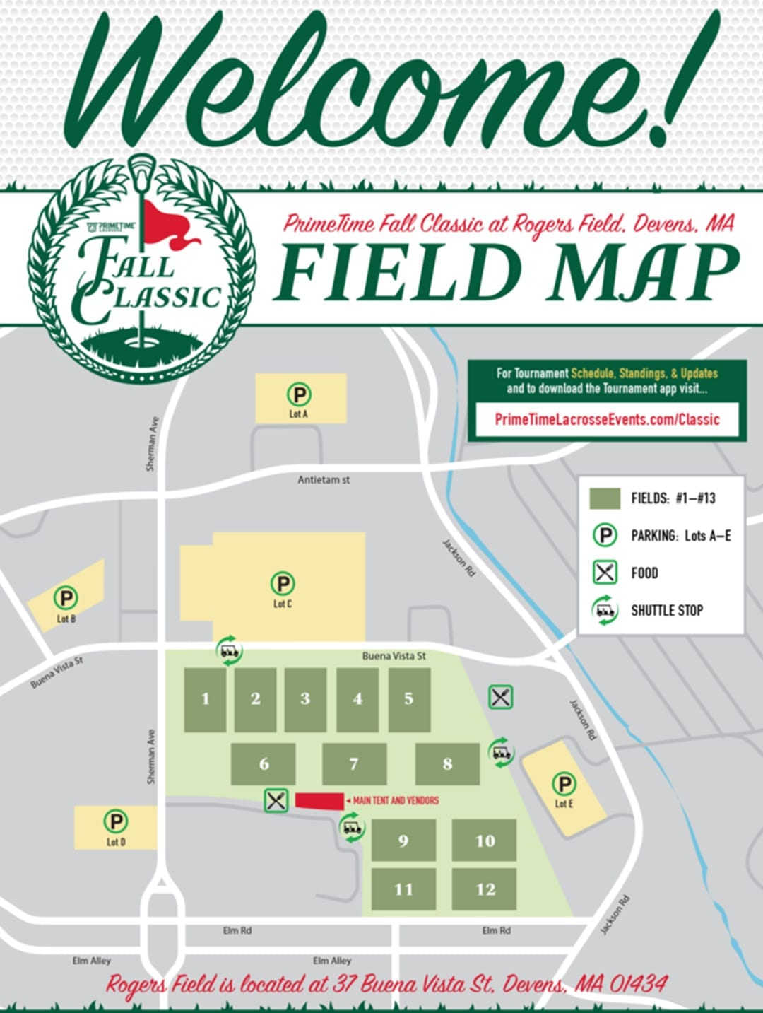 fall classic field map