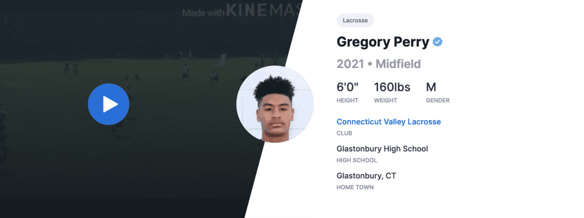 Greg Perry - Connecticut Valley Lacrosse